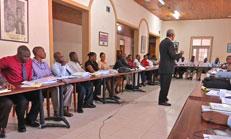 Titre: Séminaire de formation à l'EMA pour la promotion de la loi du 13 mars 2012