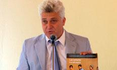 Photo: Le représentant de l'Unicef en Haïti, Edouard Beigbeder.