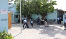 Titre: La reconstruction du Centre St Vincent pour Enfants Handicapés, encore incertaine