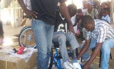 Titre: Distribution de matériels adaptés à Ganthier