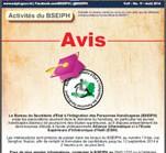 Titre: HandiScoop No10: Août 2014, bulletin mensuel du BSEIPH