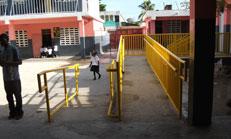 Titre: La ville des Cayes reçoit la visite d'une délégation du Bureau Central du BSEIPH