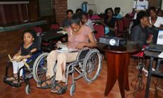 Des femmes handicapées formées à être autonomes