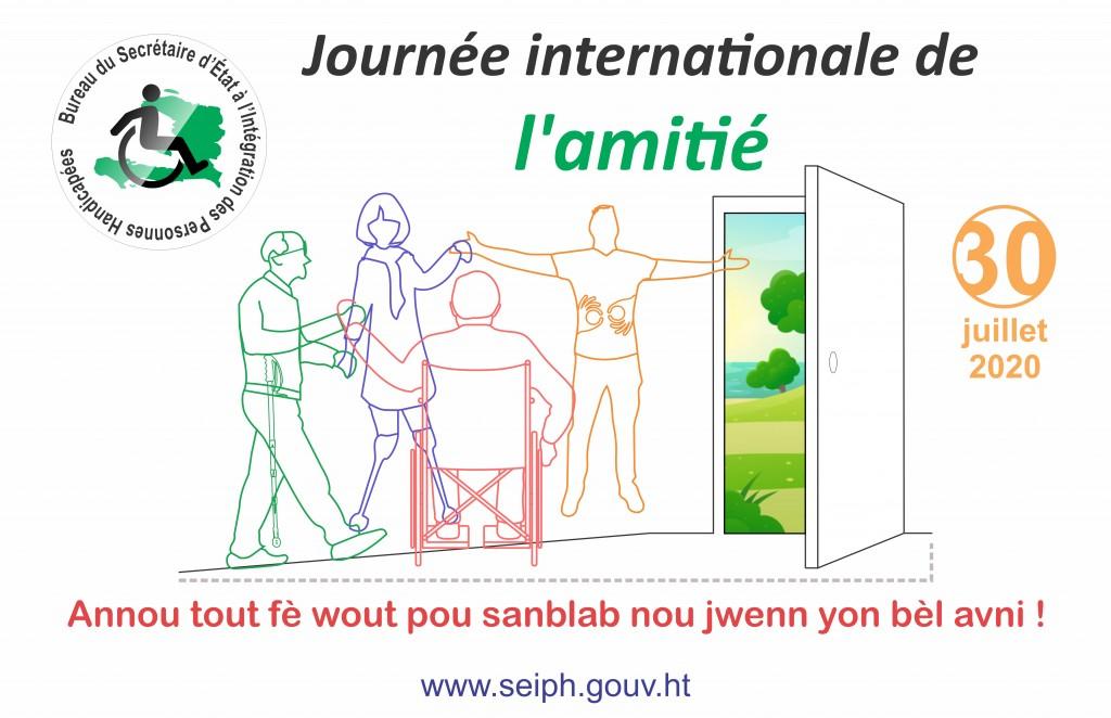 BSEIPH JOURNEE AMITIE AFFICHE 30 juillet 2020